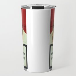 SERIOUSLY HARMS YOU AND OTHERS, by Antony Micallef Travel Mug