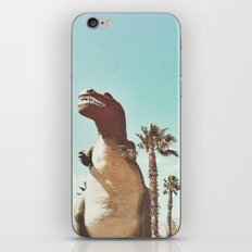 dino daze iPhone & iPod Skin