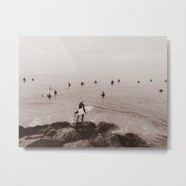 Surfer 001 Metal Print