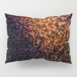 Blurred Numbers Pillow Sham