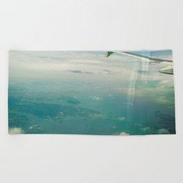 Tropical Getaway Beach Towel