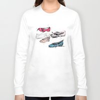 shoes Long Sleeve T-shirts featuring Shoes by ARTDJG
