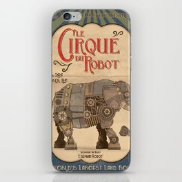 Robot Circus - Elephant iPhone Skin