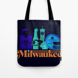MKE ~ Milwaukee, WI Tote Bag
