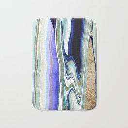 geode art, agate art, agate slice, agate slice art, mineral art, abstract agate, contemporary art Bath Mat
