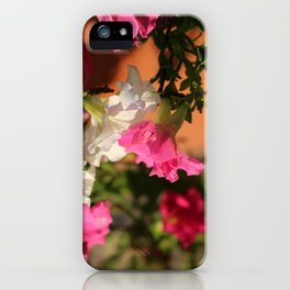 Glorious Abstract Floral  iPhone Case