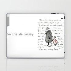 A Few Parisians: Marché de Passy by David Cessac Laptop & iPad Skin
