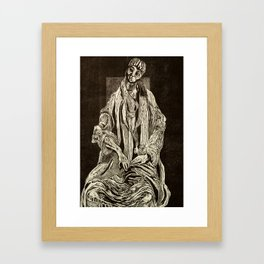 I could have been (a pair of ragged claws scuttling across the floors of silent seas) Framed Art Print
