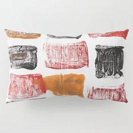 Licorice abstract watercolor Pillow Sham