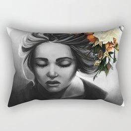 Blossom Blonde Rectangular Pillow