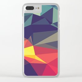 Flash Of Color Clear iPhone Case