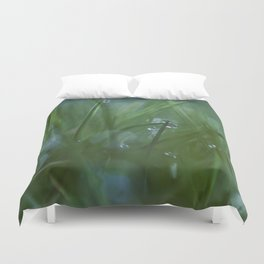 in the yard Duvet Cover
