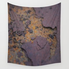 Rust on Rust rustic decor Wall Tapestry