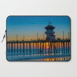 Sunset Under Zero Laptop Sleeve