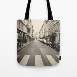 The streets of Paris, France Tote Bag