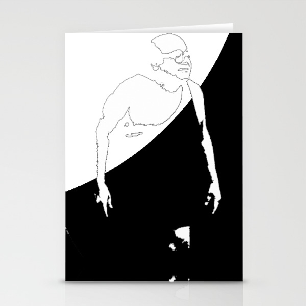 Trash Man Stationery Cards by Thadesign CRD8900678