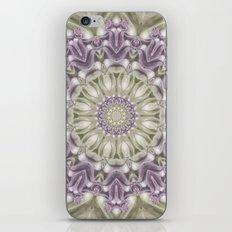 Lilac and Green Mandala iPhone & iPod Skin