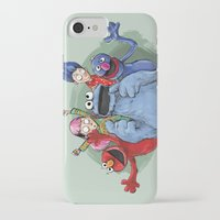 cookie monster iPhone & iPod Cases featuring cookie monster by ErsanYagiz