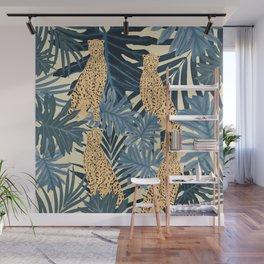 Summer Cheetah Jungle Vibes #1 #tropical #decor #art #society6 Wall Mural