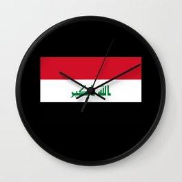 Iq Flag Wall Clock