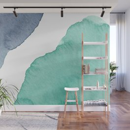 Watercolor Drops Wall Mural