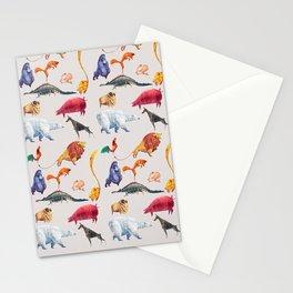 Animal kingdom Stationery Cards