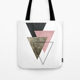 Modern Abstract Triangle 2 Tote Bag