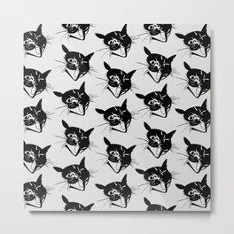 Savage Kitten Metal Print