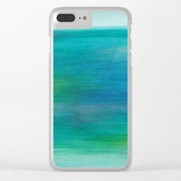 Ocean Series, 3 Clear iPhone Case