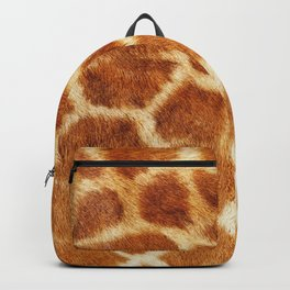 Giraffe Print Backpack