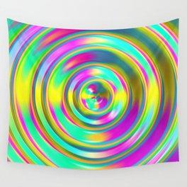 Pastel Swirl Wall Tapestry