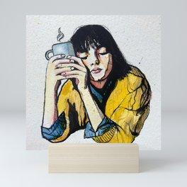 Coffee Nap Mini Art Print