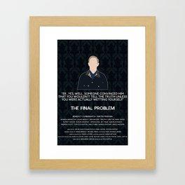 The Final Problem - John Watson Framed Art Print