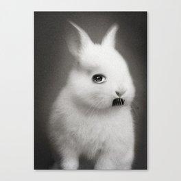 G.W Rabbit Canvas Print