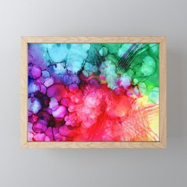 Rainblow Framed Mini Art Print