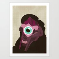 doom Art Prints featuring DOOM by Jamie Bryan
