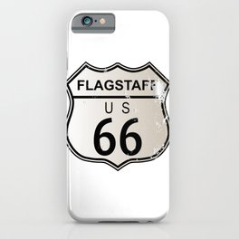Flagstaff Route 66 iPhone Case
