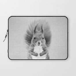 Squirrel 2 - Black & White Laptop Sleeve
