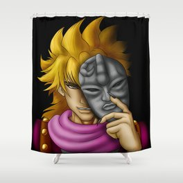 Dio Mask Shower Curtain