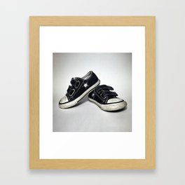 step off. Framed Art Print