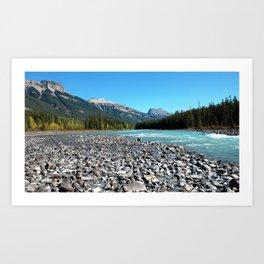 Glacier River Art Print