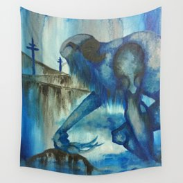 The Blue Giant Wall Tapestry