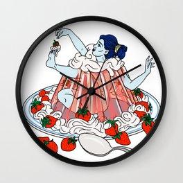 Jello Girl Wall Clock