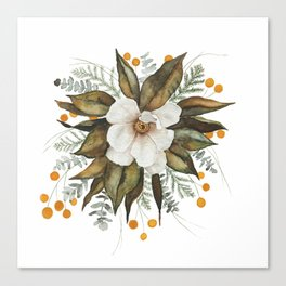 Magnolia Bouquet Canvas Print