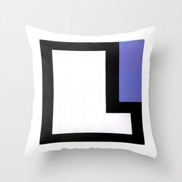 Geometric Design by Dominic Joyce Throw Pillow