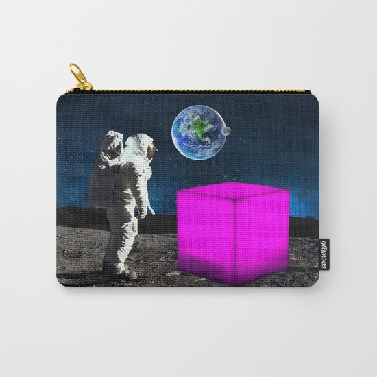 Cube from Space Carry-All Pouch