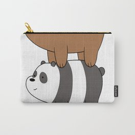 We Bare Bears Stacked Up Carry-All Pouch
