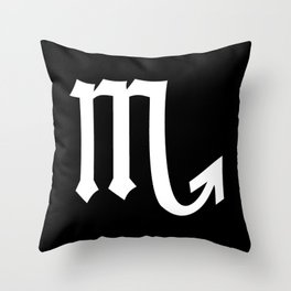 Scorpio II Throw Pillow