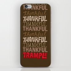 Thanksgiving, Black Friday iPhone & iPod Skin