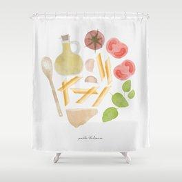 Pasta Italiana Shower Curtain